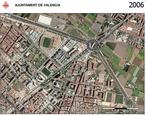 Estadio del Levante. Zona Oriols